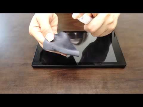 IQ Shield - Amazon Fire HD 8 2017 Screen Protector Installation Video