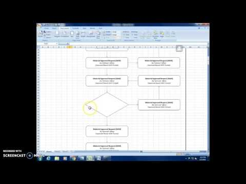 Excel Flow Chart Preparations