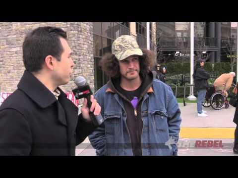 WATCH: Oil industry worker speaks his mind at Kinder Morgan protests!