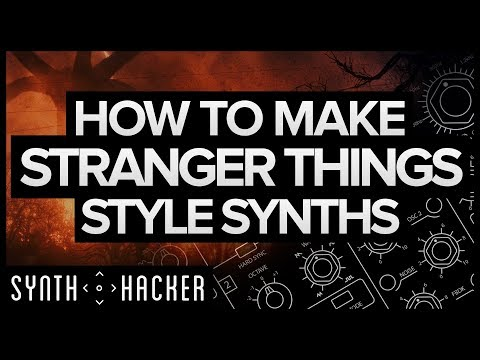 How To Make Stranger Things Style Synths (Synthwave / Diva / Serum Tutorial)