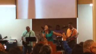 Kristy sings Holy Spirit, Easter Sunday 2015