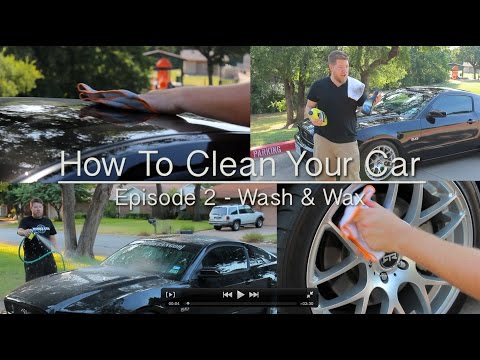How To Wash Your Car - Meguiars Ultimate Wash and Wax