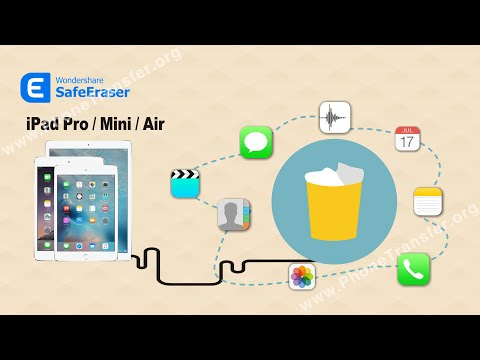 How to Permanently Remove Deleted Data from iPad Pro/Mini/Air by SafeEraser