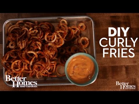 DIY Curly Fries