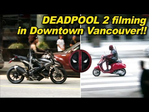 Deadpool 2 filming in Vancouver on Hastings and Thurlow