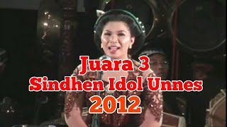 Uler Kambang Juara 3 Sinden Idol Unnes 2012