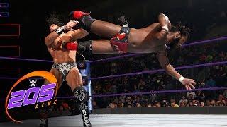 Rich Swann vs. Tony Nese: WWE 205 Live, Jan. 10, 2017