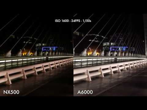 Samsung NX500 vs Sony A6000 Low-Light High ISO Test Comparison