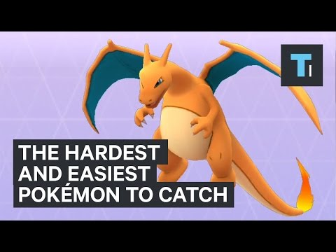 The hardest and easiest Pokémon to catch