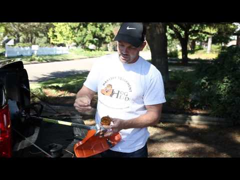 How to change the head on a Stihl weed trimmer