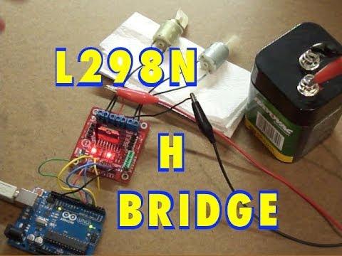 Arduino and L298N Dual H Bridge DC Motor Control