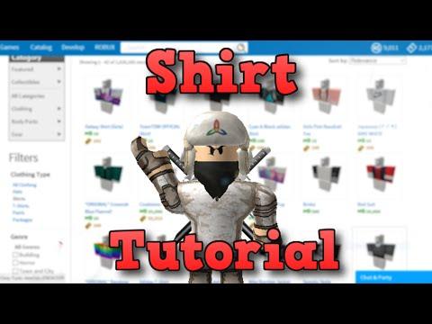 How to make a Shirt/Pants | ROBLOX | 2016 (Windows 10!)