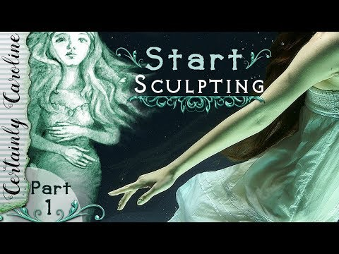 How to Start A Sculpture, Doll Portrait Sculpting P1: Ideas, Polymer Clay Tools, Head Armature, Bake