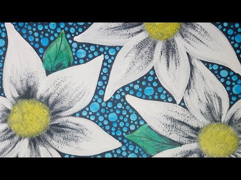Acrylic Painting Whimsical Flowers and Dots Quick & Easy Painting Techniques