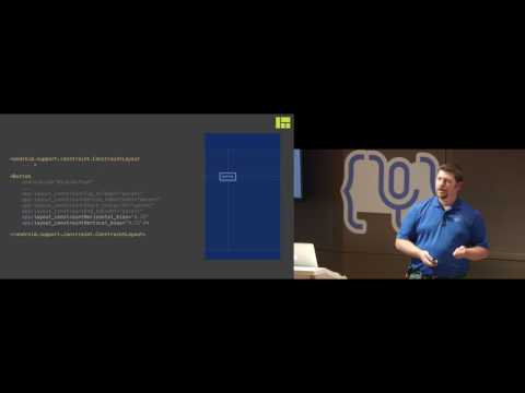 Droidcon NYC 2016 - ConstraintLayout, Inside and Out