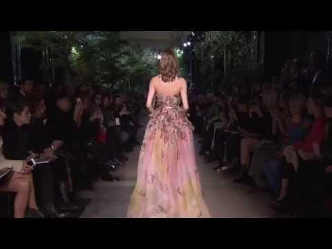 Le défilé Haute Couture d'Elie SAAB Spring Summer 2015
