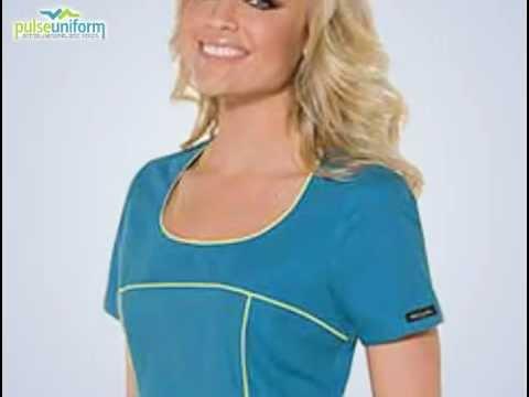 Baby Phat Scrub Top - 26809 Cherokee Fashion Nursing Scrubs
