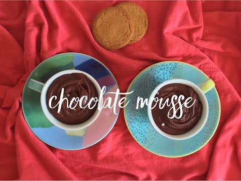 Two-Ingredient Chocolate Mousse - No eggs or cream