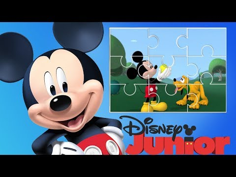 Mickey Mouse Clubhouse Cartoon Mini Clips Puzzles Game  - Disney Junior App For Kids