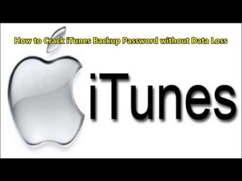 How to Crack iTunes Backup Password without Data Loss