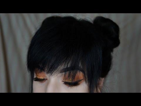 Space Buns / Twin Buns Tutorial (FOR SHORT HAIR)   Brenna Neal