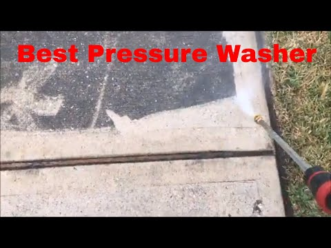 Pressure Washing Concrete Driveway WithThe Best Gas Pressure Washer For The Price