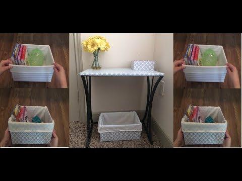DIY - How To Make Storage Boxes