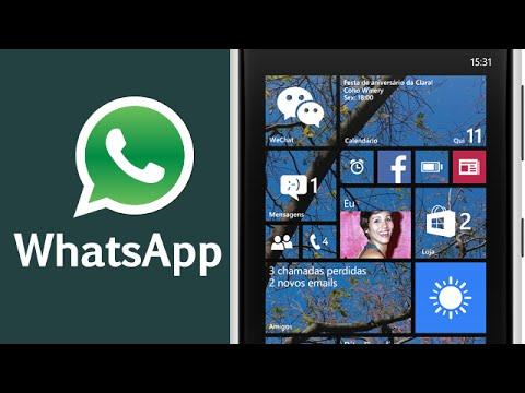 Como instalar o Whatsapp no Windows Phone