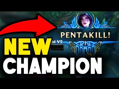 PENTA KILL WITH FIRST TIME KAI'SA!!! NEW CHAMPION IS ACTUALLY BUSTED (League of Legends)