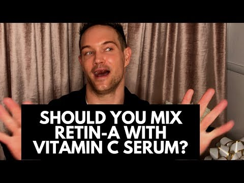 MY BELIEFS ABOUT MIXING RETIN-A WITH VITAMIN C AND HOW TO USE SKINCARE DIFFERENTLY