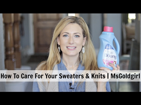 How To Care For Your Sweaters At Home | MsGoldgirl