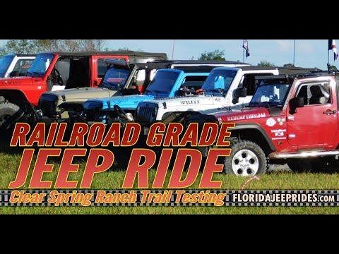 The Railroad Grade Trail Ride Testing for Jeepin with Judd 2019 Part 3