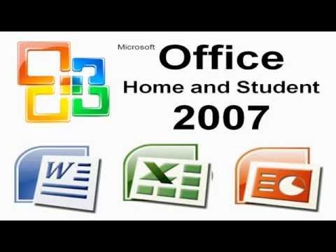 Microsoft Office Home and Student 2007 activado desatendido en Español (32/64bits)