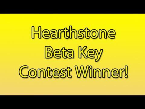 Hearthstone Beta Key Contest Winner!