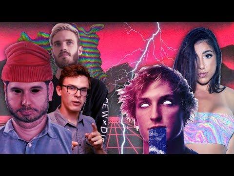 TRASH YOUTUBERS (H3H3, pewdiepie, iDubbbzTV, Jake Paul, Logan Paul, Ricegum)
