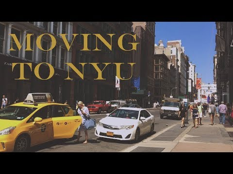 Moving to NYC // NYU Move in day (Brittany Hall)