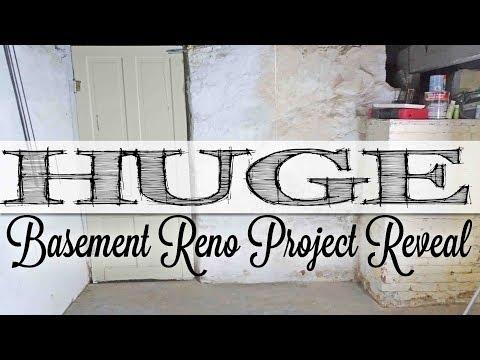 HUGE Basement Reno Project Reveal | NEW CRAFT STUDIO