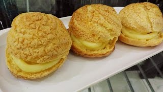 Resep Kue Sus Crunchy (Crispy Choux Pastry) dan Super yummy
