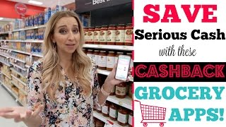My Top Cash Back Grocery Apps! (Over $2,000 Back So Far!)
