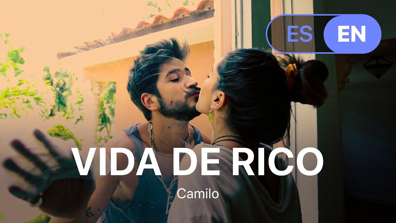 Download Camilo - Vida de Rico  (Lyrics / Letra English & Spanish) MP3 Gratis