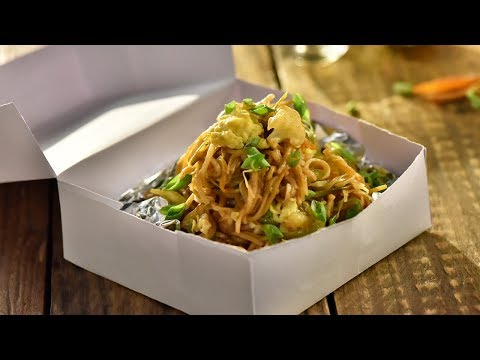 Kolkata Streetstyle Chow Mein | How to Make Veg Chow Mein | Chinese Recipe | Indian Street Food