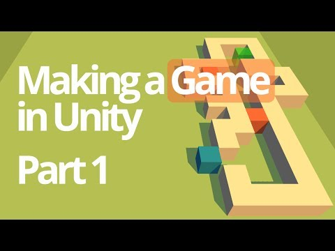 Making a Simple Game in Unity (Part 1) - Unity C# Tutorial