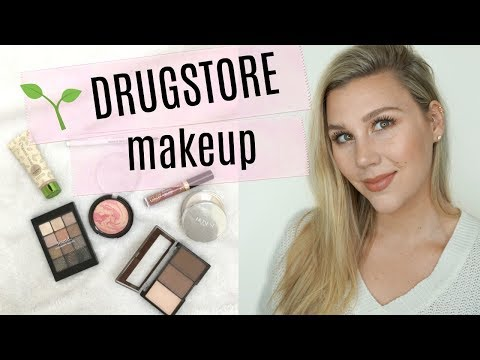 Trying out Organic Drugstore Makeup! (ft: Found, Honest Beauty & Shea Moisture)