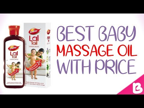 6 Best Massage Oils for Babies in India with Price