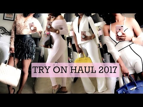 GROWN & SEXY TRY ON HAUL SPRING 2017 | FASHION NOVA, GITI ONlINE, YOINS