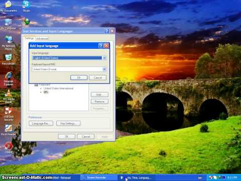How to Add Language in windowsXP  without any software