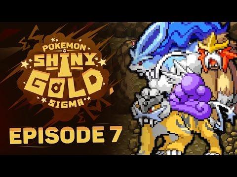 AWAKEN THE LEGENDARY BEAST! Pokemon Shiny Gold Sigma ROM HACK  Nuzlocke w/ Sacred - Episode 7