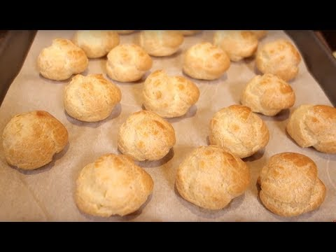 Choux Pastry Made simple-for cream puffs, profiteroles, eclairs