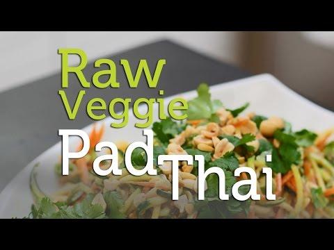 Mouthwatering, Raw Veggie Pad Thai Recipe | Tweak & Eat