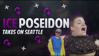 ICE POSEIDON SEATTLE BEST MOMENTS WITH CHAT - RV TRIP DAY 5 (Flashed and Chased by SJW)